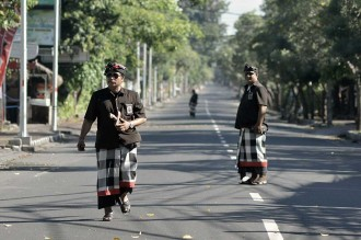 Umat Hindu Bali Jalani Brata Penyepian