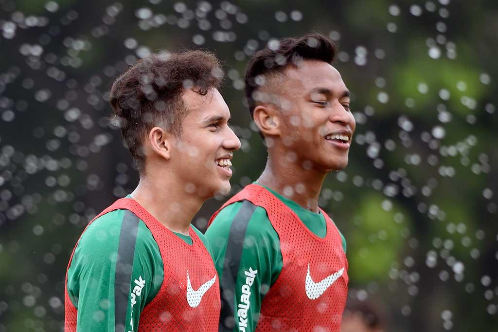 Jelang Lawan Singapura, Timnas U23 Gelar Latihan
