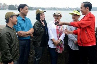 Jokowi Minta Generasi Muda Jadi Agen Toleransi