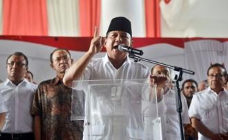 Gerindra akan Deklarasikan Prabowo sebagai Capres Akhir Maret