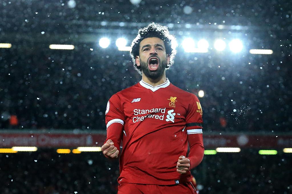 Mohamed Salah Quattrick, Liverpool Libas Watford 5-0