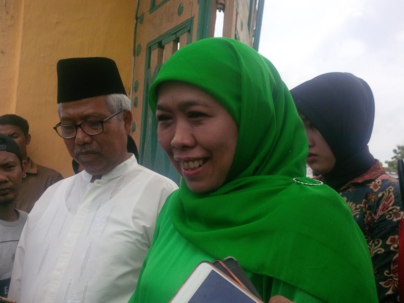 Khofifah Indar Parawansa. Foto: Medcom.id / Rahmatullah