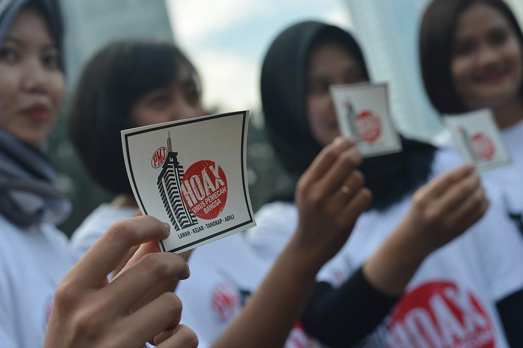 Polda Metro Jaya Gelar Deklarasi Anti Hoaks di CFD