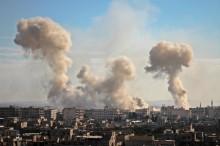 Ribuan Warga Suriah Melarikan Diri Ghouta dan Afrin