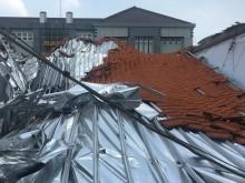Cerita Detik-detik Atap RSAL Ramelan Ambruk