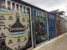 Kampung Batik Kembang Mayang, Destinasi Swafoto Baru di Tangerang