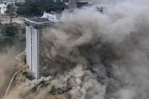 Kebakaran di Hotel Filipina Tewaskan Tiga Orang, 23 Terluka