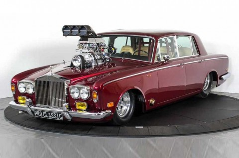 Rolls-Royce Klasik Bergaya Balap