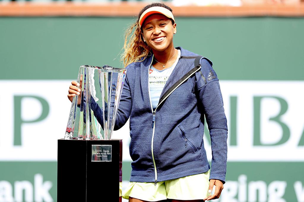 Naomi Osaka Juara BNP Paribas Open