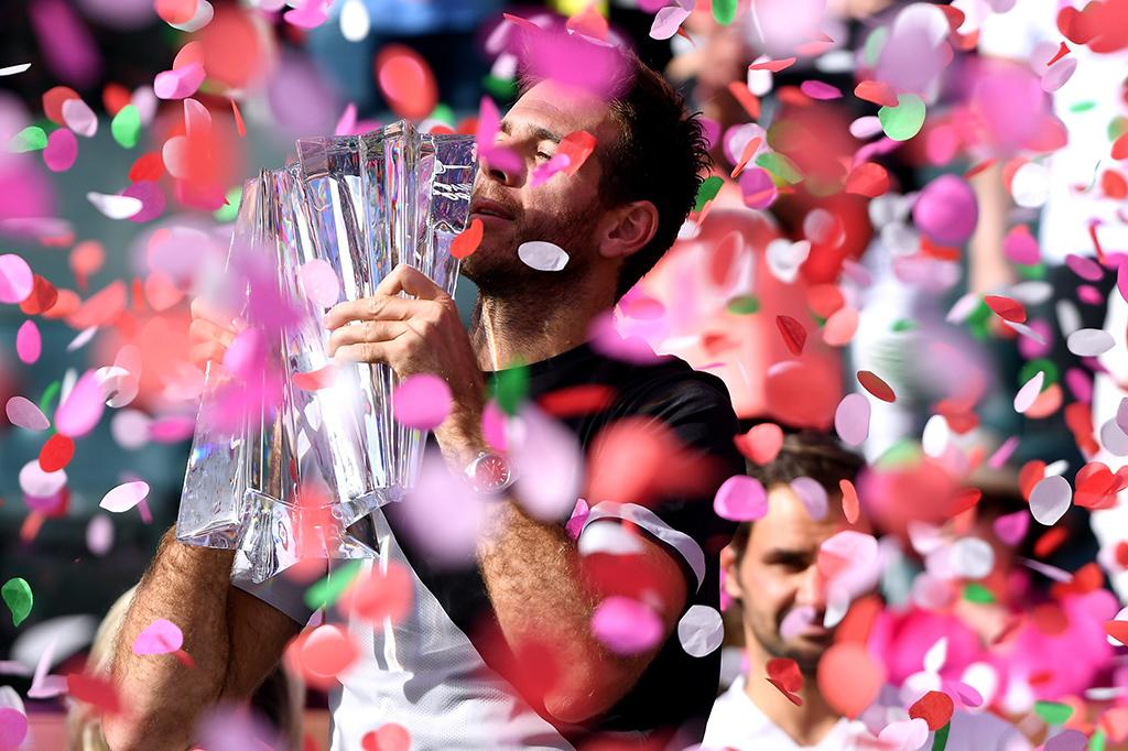 Del Potro Hentikan Federer Rebut Gelar Juara