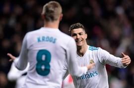 Ronaldo Quattrick, Real Madrid Pesta 6 Gol ke Gawang Girona