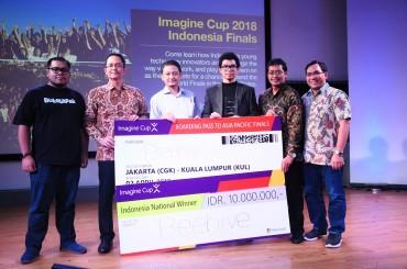 Pelajar Indonesia dari Manchester Juara Microsoft Imagine Cup 2018 Indonesia