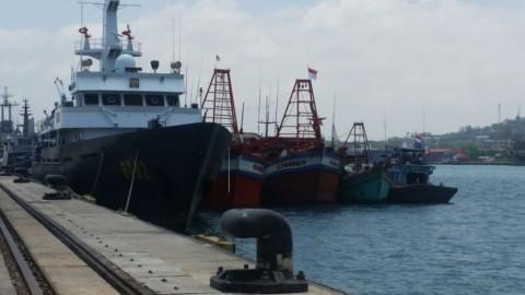 Polri Tangkap Kapal Pencuri Ikan di Natuna