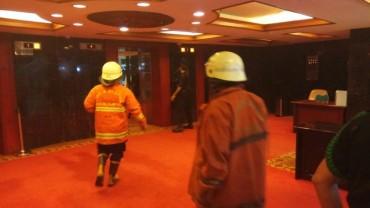 Gedung Nusantara III DPR RI Kebakaran
