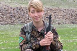 Seorang Perempuan Inggris Tewas Bertempur Lawan Pasukan Turki