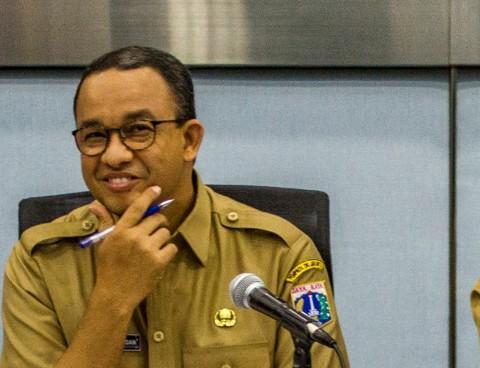 Anies Curiga Bungkus Kabel di Gorong-gorong Balai Kota Bekas Pencurian