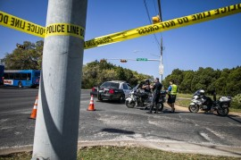 Pengendara Sepeda Luka Parah Setelah Ledakan Texas