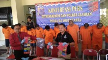 17 Pembobol ATM di Yogyakarta Ditangkap