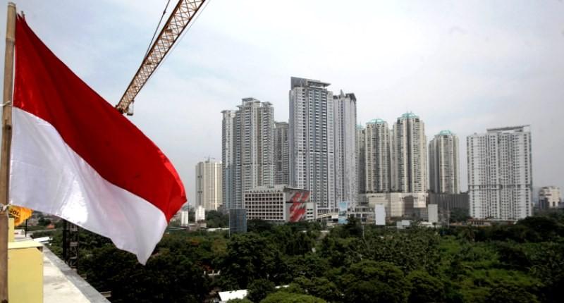 Deretan gedung apartemen di Jakarta Barat. MI/Arya Manggala