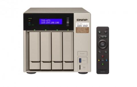 QNAP TVS-473, NAS Canggih Bisa Multimedia