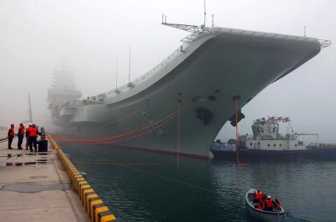 Tiongkok Kirim Kapal Induk ke Selat Taiwan