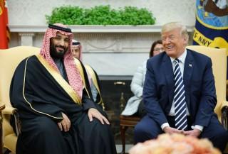 Trump Sambut Putera Mahkota Arab Saudi di Gedung Putih