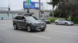 Jelang Tabrakan, Mobil Otonom Uber tak Melambat?