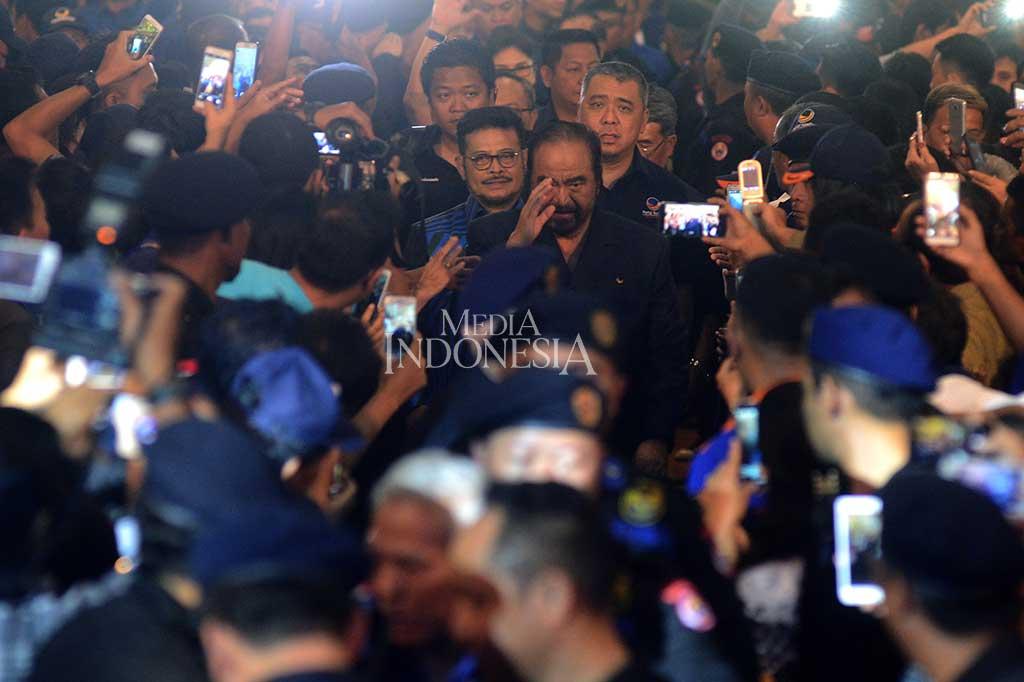 Surya Paloh Buka Konsolidasi NasDem Sulawesi Utara
