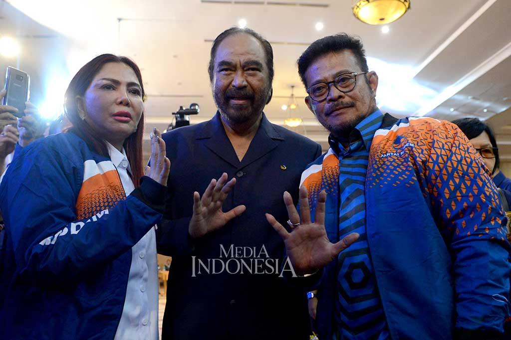 Syahrul Yasin Limpo Resmi Masuk NasDem