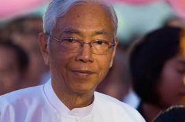Presiden Myanmar Mengundurkan Diri