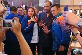 Surya Paloh Pastikan Syahrul Yasin tak Salah Pilih Partai