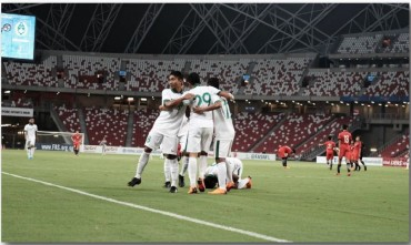 Tampil Dominan, Timnas U-23 Hancurkan Singapura
