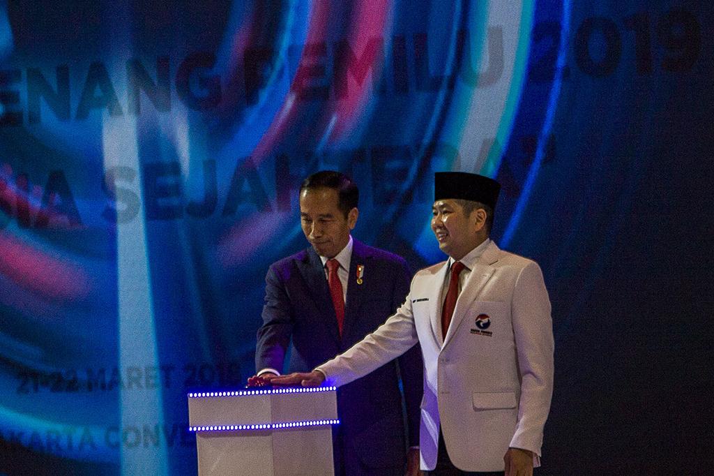 Perindo Resmi Dukung Jokowi di Pilpres 2019
