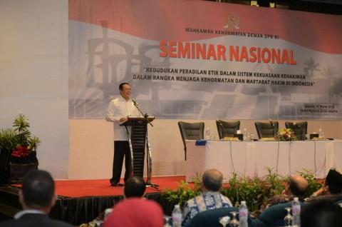 Ketua DPR Dorong Penguatan Pendidikan Etika Profesi Hakim