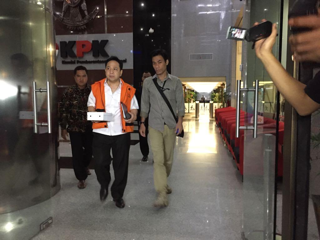 Tersangka kasus korupsi proyek KTP-elektronik Setya Novanto -- Foto: Medcom.id/ M Al Hasan