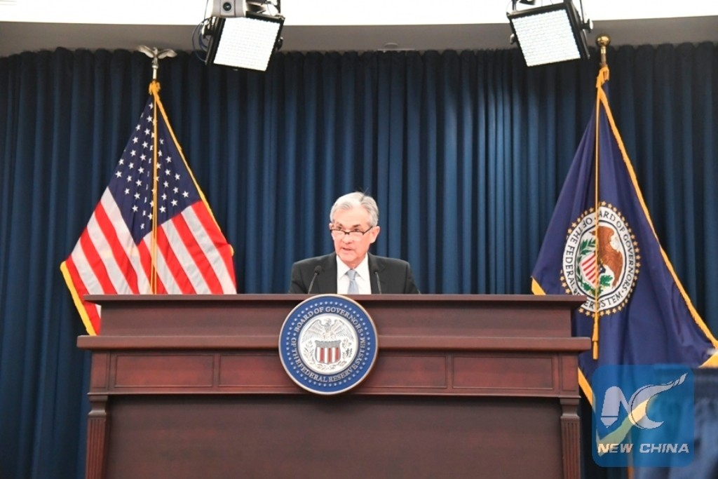 Ketua Federal Reserve AS Jerome Powell (Xinhua/Yang Chenglin)