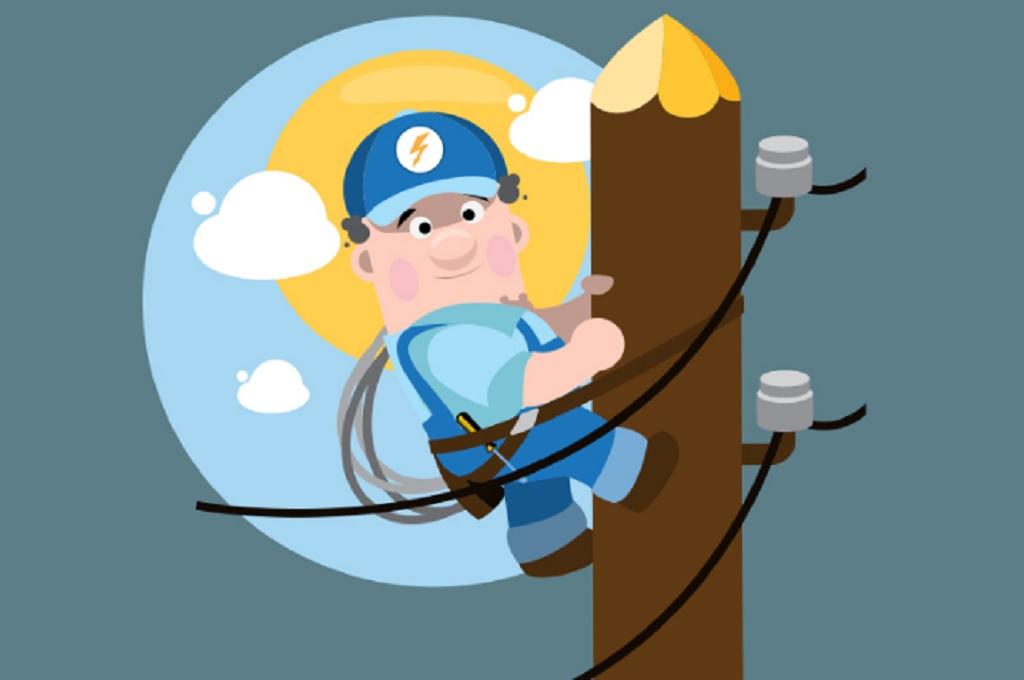 Ilustrasi perawatan fasilitas listrik, Medcom.id - M Rizal