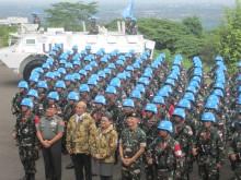 Bahas Pasukan Perdamaian, Menlu Sambangi Markas DK PBB