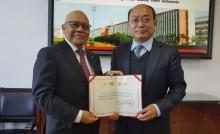 Universitas Tiongkok Anugerahkan Profesor untuk Jusman Syafii Djamal