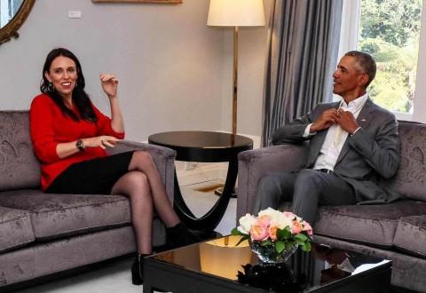 Tips Mengasuh Anak dari Obama kepada PM Selandia Baru
