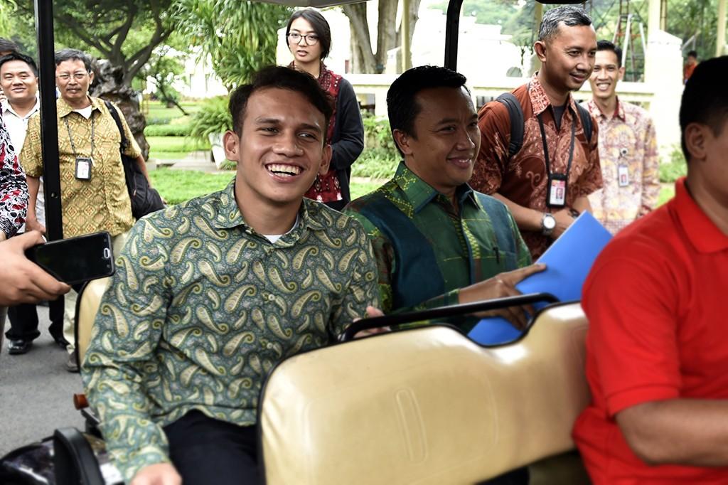 Jokowi Undang Egy Maulana ke Istana