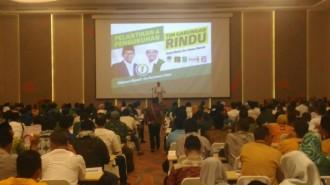 'Rindu' Lantik Tim Pemenangan Gabungan