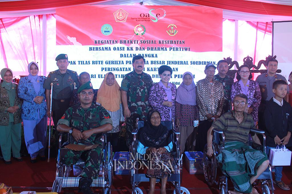 Panglima TNI Hadiri Baksos di Gunungkidul
