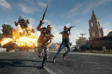 Game PUBG (PlayerUnknown's Battlegrounds).