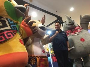 Penjualan Merchandise Asian Games 2018 Ditaksir Menembus Angka Rp1,5 Triliun