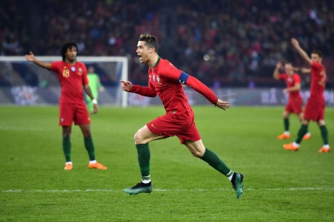 Dwigol Ronaldo pada Menit Akhir Antar Portugal Tekuk Mesir