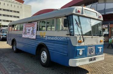 Pameran Bus Klasik, Ajak Masyarakat Bertransportasi Massal