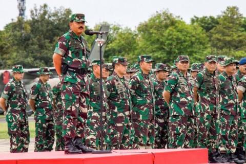 Panglima Mutasi  39 Perwira Tinggi TNI