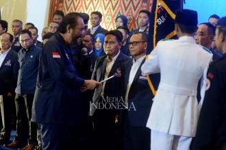 Surya Paloh Lantik Pengurus DPW NasDem Sulbar