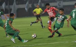 Tundukkan PSMS Medan, Bali United Tembus Posisi Dua